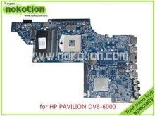 laptop motherboard for hp pavilion DV6 DV6-6000 641490-001 HM65 GMA HD3000 DDR3