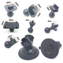 7 видов шаровой головки опции DVR держатель для автомобиля Dvr Крепления GPS DV тире камера присоска кронштейн Универсальный вождения рекордер база