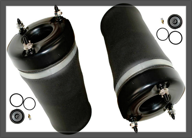FREE SHIPPING front air spring w164 for mercedes benz ML GL 1643206113 air suspension pneumatic  springs bag  pair  2pc