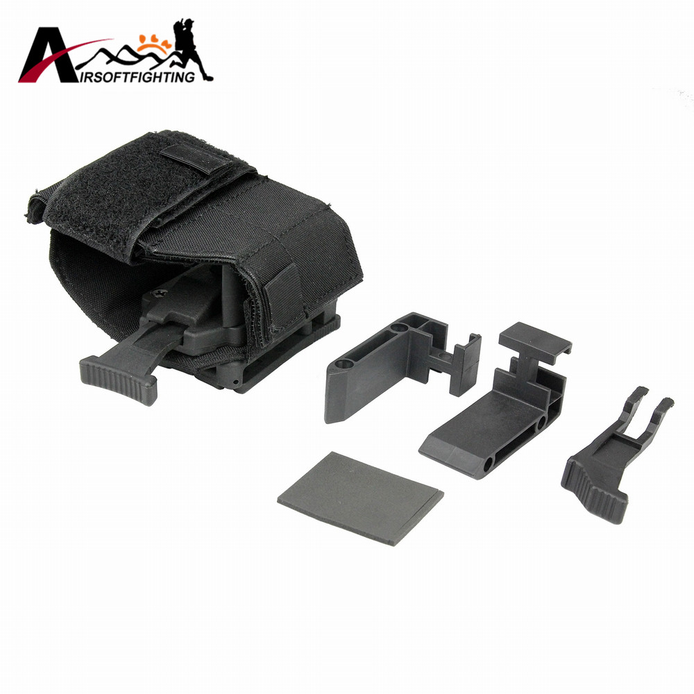 FMA TB1115 Universal Holster For Tactical Belt Airsoft Combat Hunting Rifle Shotgun Holder Bag Hunting Molle Accessory Pouch