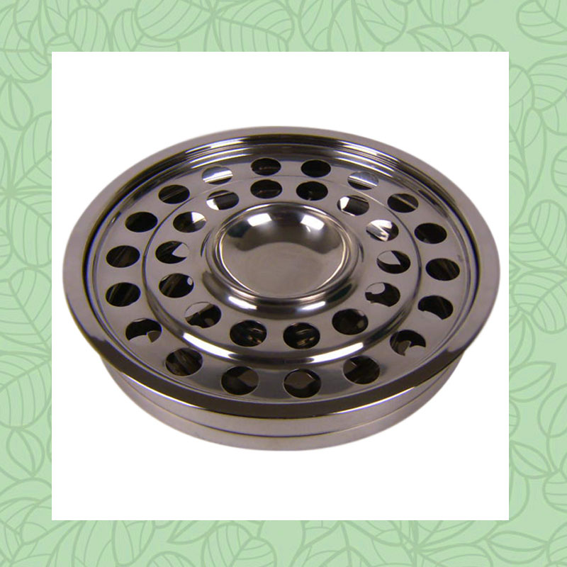 New Base Tray Stainless Steel Holy Church Communion Round Dish Plate Hold  32 Cups Bread space Free Shipping