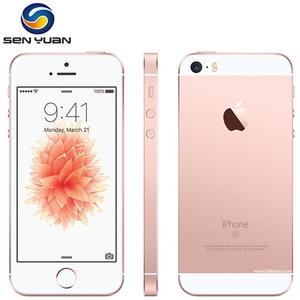 IPhone SE A1662 A1723, двухъядерный, 2 Гб ОЗУ 16 Гб/32 ГБ/64 Гб/128 Гб ПЗУ, 4,0 дюйма, разблокированный, Apple SE, сканер отпечатка пальца, оригинальный бывший в упо...