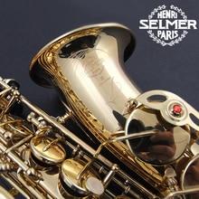 Hot Sale Saxophone Alto Selmer Eb boquilha Saxophone 54 Mouthpiece Alto Sax Electrophoresis Professional Music Instrument Brass