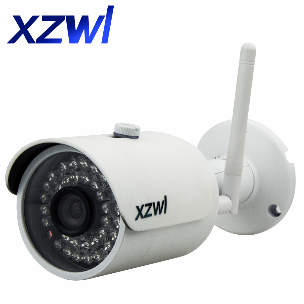 Outdoor Waterproof IP Camera WIFI HD 720P 1MP Wireless CCTV Camera Support Micro SD Card Up To 64GB IR Night Vision P2P Onvifi wireless network ip security camera 720p hd ip camera p2p ir cut night vision pan tilt two way audio support 64gb micro sd card