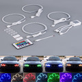 4pcs E36 E38 E39 E46 RGB 4*131MM Multi-Color 5050 Flash LED Car ANGEL EYES Headlight Rings kit for BMW hot selling