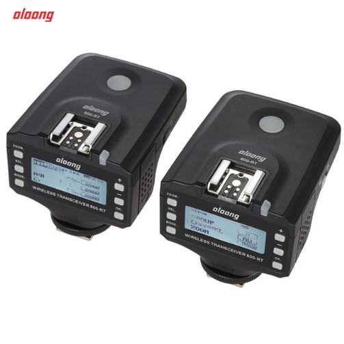 Oloong 800-RT TTL 1/8000s Wireless Remote Transceiver Transmitter Receiver Flash Trigger for Canon 580 600 Speedlite for Nikon yn e3 rt ttl radio trigger speedlite transmitter as st e3 rt for canon 600ex rt new arrival