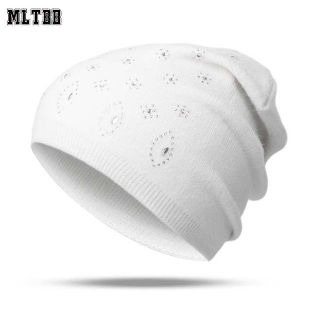 9ccda8f6f9b MLTBB 2019 Winter Hat For Women Men Knitted Hat Skully Hats For Women  Female Warm Cotton Winter Cap Unisex Skullies Beanies