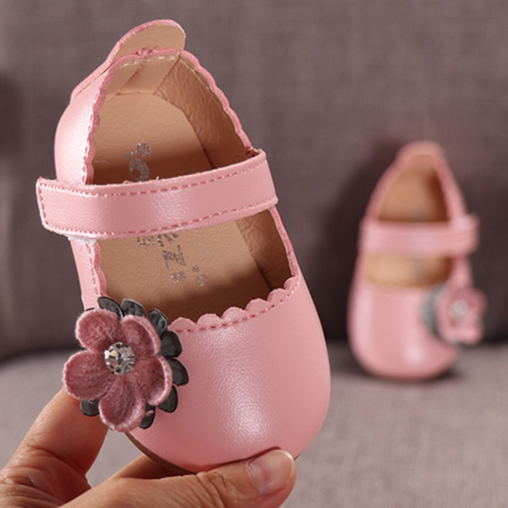 First Walkers Considerate Cute Toddler Baby Girls Soft Bottom Shoes Polka Dots Bow-knot Prewalker For Kids