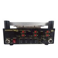 Elektrische soldeerbout + IR Infrarood Voorverwarmen Station Digita Hot Air Heat Gun BGA Rework Soldeer Station Gordak 863