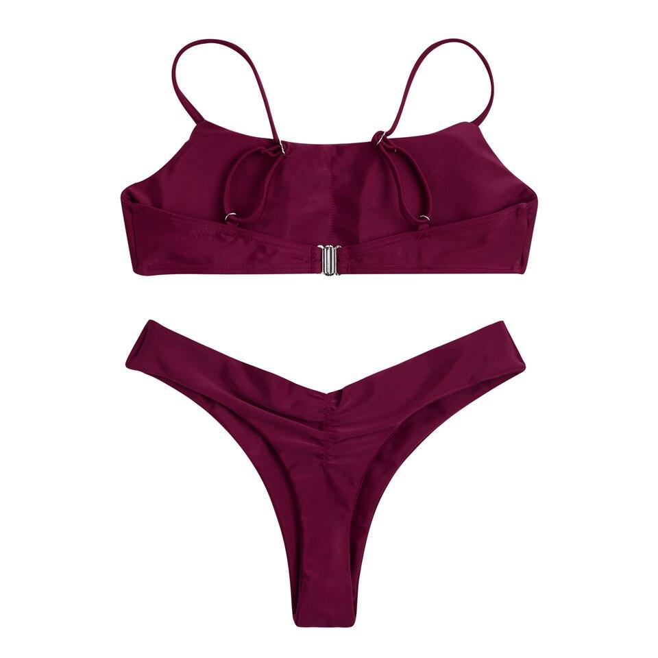 HTB1sUvYaz7nBKNjSZLeq6zxCFXaC - FREE SHIPPING  Swimsuit Brazilian Beach Wear Bathing Suits Swimming Suit Vintage JKP416