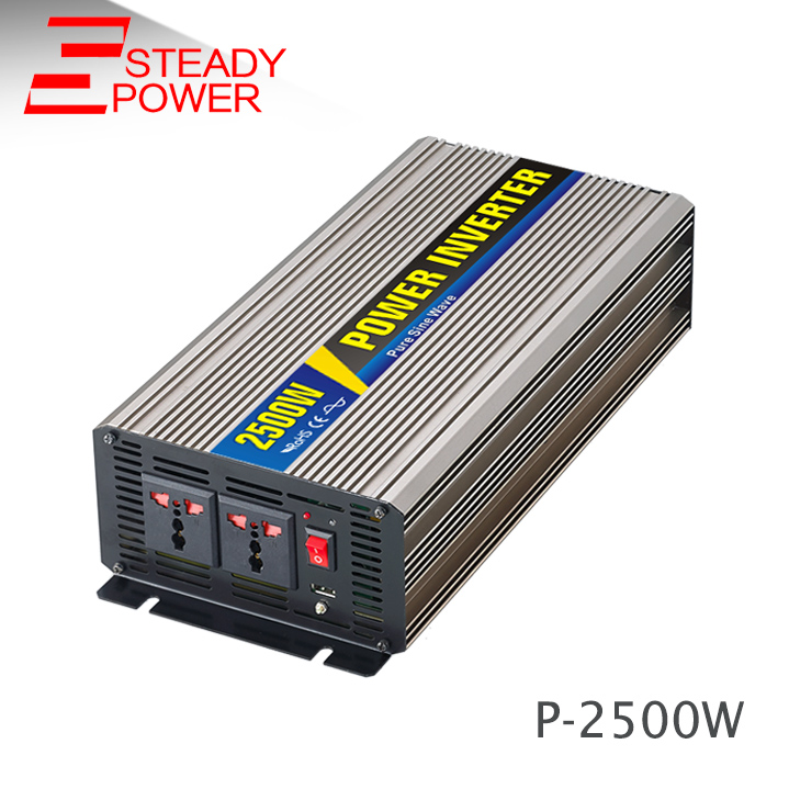 цена на 2500W 12v 24v dc to ac 220v 2500 Watt pure sine wave inverter