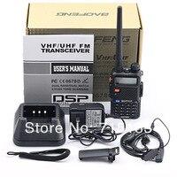 BAOFENG UV 5R VHF136 174MHz& UHF 400 520MHz Dual Band Radio Free Earpiece Baofeng UV 5R walkie talkie 5w Dual display for car