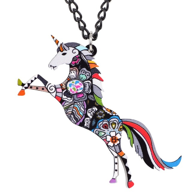 UNICORN PENDANT NECKLACE (6 VARIAN)