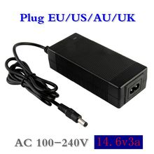 1 pc best price 14.4 or 14.6 V 3A battery charger for 4S 3.2 4 series Lifepo4 Battery pack with constant current charge
