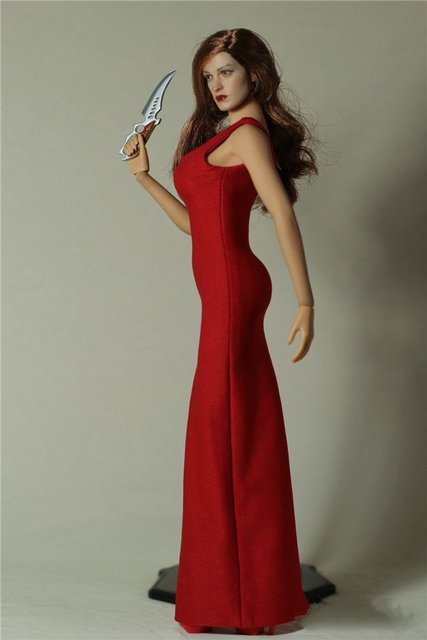 Winstartoy Full Hand Made 1 6 Y Bond Red Dress With High S For