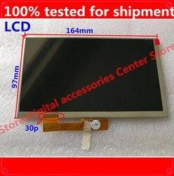 HZ darmowa wysyłka 7 cal ekran LCD  100% nowy dla Digma samolot 7535E 3G PS7147MG wyświetlacz  tablet PC dla 30pin ekran LCD w Ekrany LCD i panele do tabletów od Komputer i biuro na