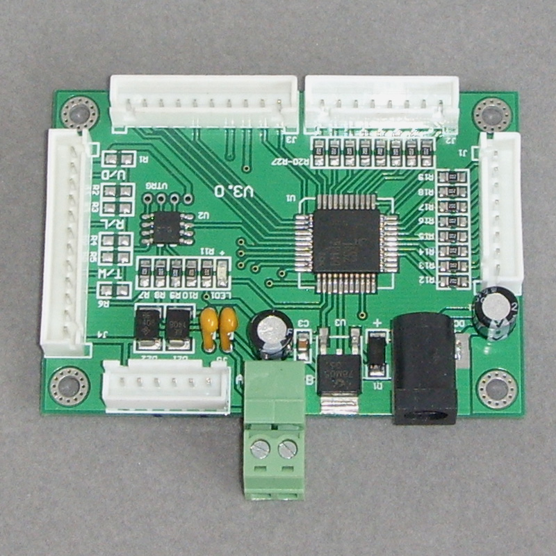 Genteel Rs485 Controller Controls Analog Data Acquisition Controller Of Keyboard Switch