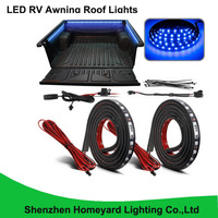 1set/pcs 60 ice Blue LED RV Awning Roof Lights Custom Made 90 5050 SMD Truck Bed Light for pick up