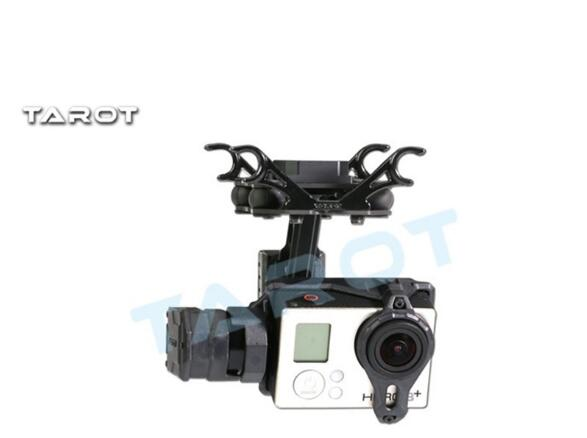 Original Tarot TL2D01 T2-2D Brushless Gimbal for Gopro HERO3 HERO4 Sport Camera Aerial Photography FPV f06844 tarot 2 axis brushless gimbal camera mount gyro zyx22 for gopro 3 aerial photography multicopter fpv