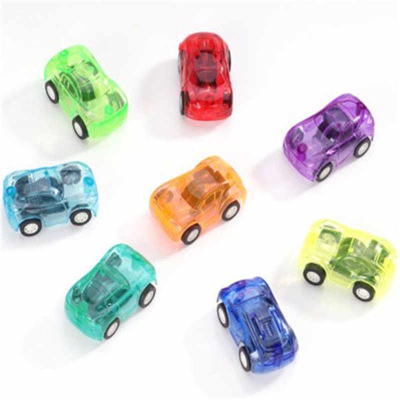 Small Warrior Car Transparent Power Run Automobile Drive Bus Stall Wholesale Toy Candy Color Gadget Miniatures Children Statue