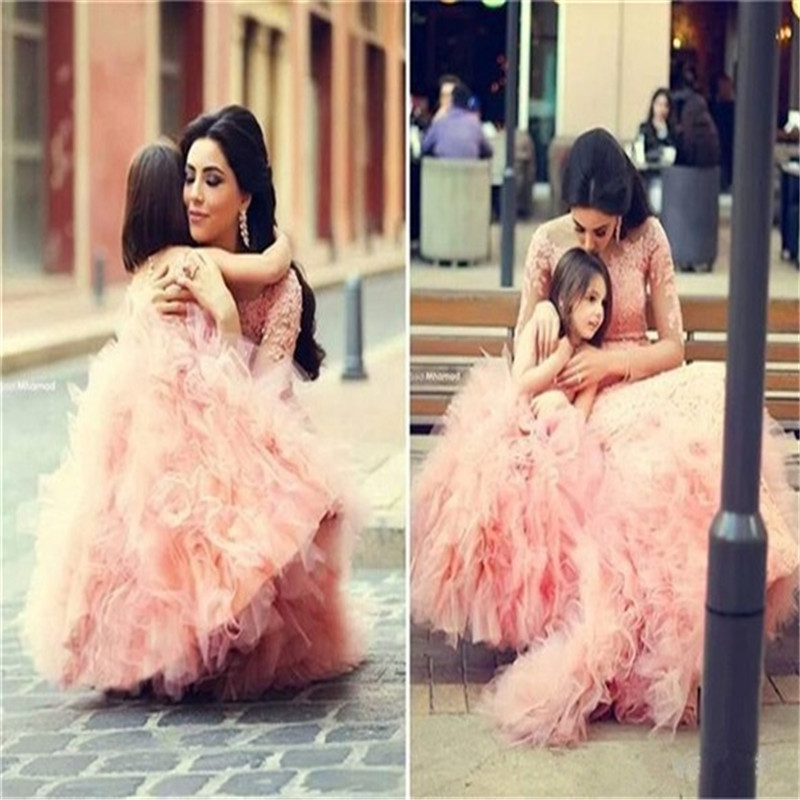 New Arrival Summer Floor Length Flower Girl Dresses Princess Birthday Pageant First Communion Chiffon Party Long Maxi Dress