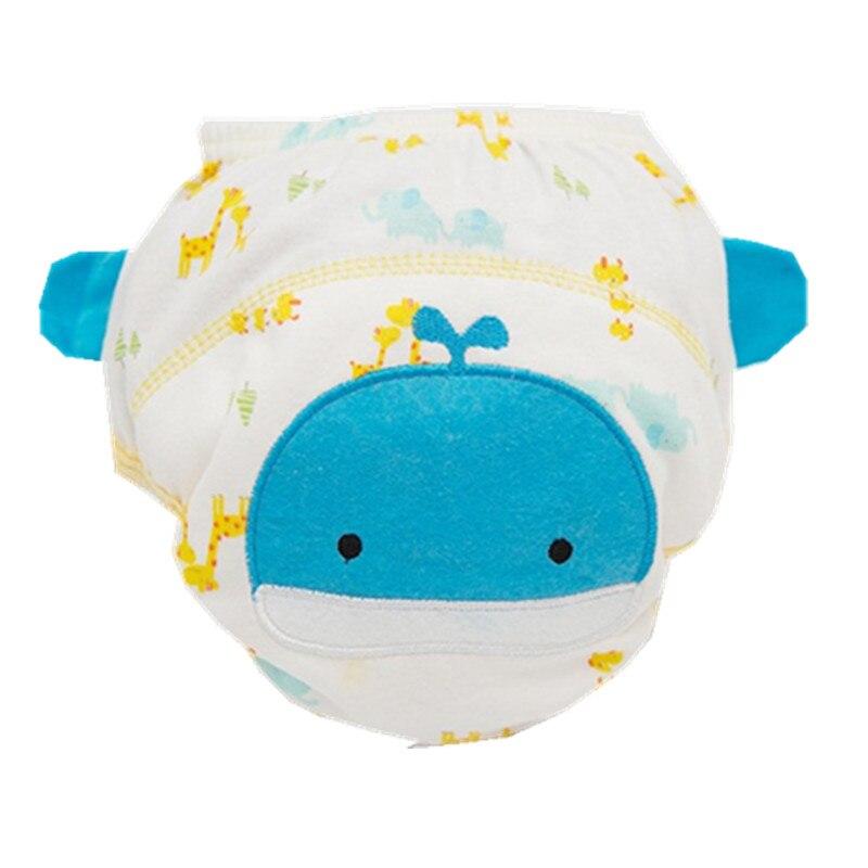4 capas de pañales de algodón del bebé pañales pantalones de - Pañales y entrenamiento para ir al baño - foto 5