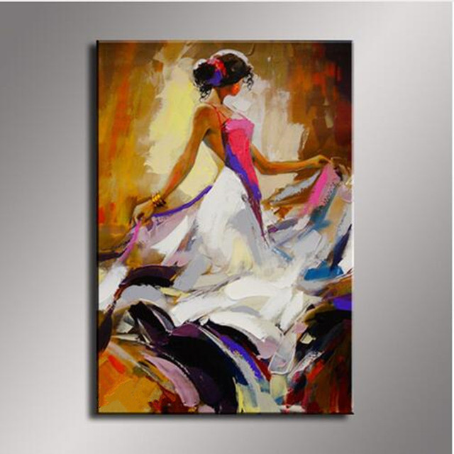 Single Hand Painted Sexy Woman Acrylic Paintings Modern Home Decor Wall Art Picture Abstract Figure Oil & Single Hand Painted Sexy Woman Acrylic Paintings Modern Home Decor ...