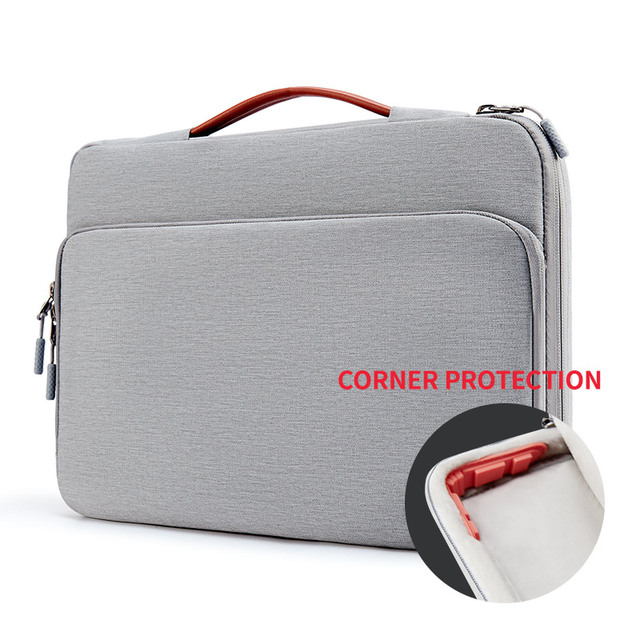 Gray Casual Color Bag Sleeve For Laptop And Macbook Air & Pro 2