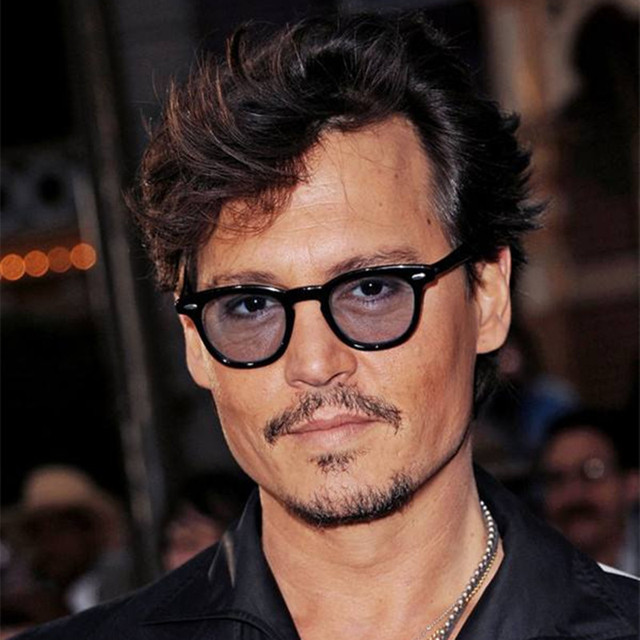 REALSTAR 2018 Super Star Johnny Depp Sunglasses for Men ...