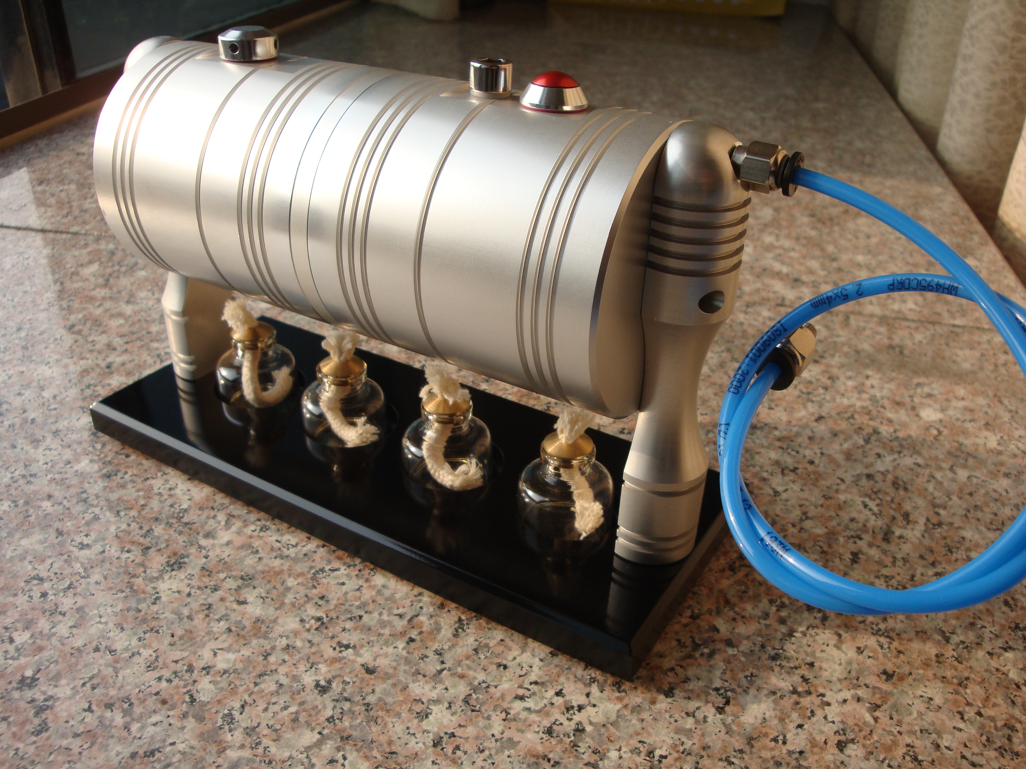 how to make a steam turbine generator