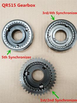 QR515 skrzynia biegów synchronizator dla fulwin celer J2 E5 envy A515 E3 ARRIZO3 1 5L silnika tanie i dobre opinie Hmail METAL