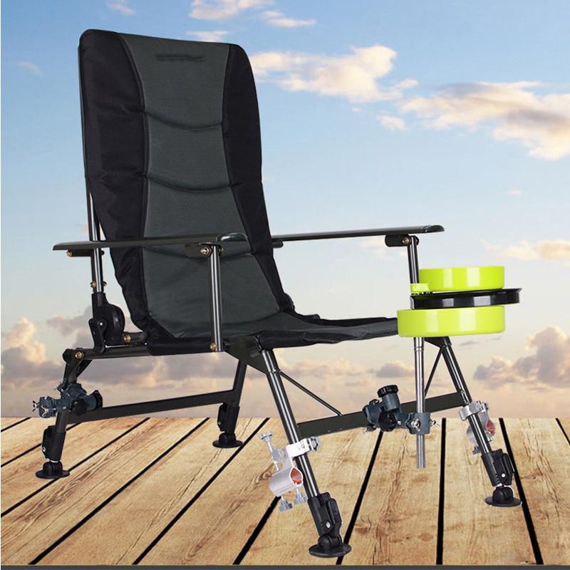2018 Plage Avec Sac Portable Chaises Pliantes En Plein Air de Pique-Nique BARBECUE Pêche Camping Chaise Siège Oxford Tissu Léger Siège pour