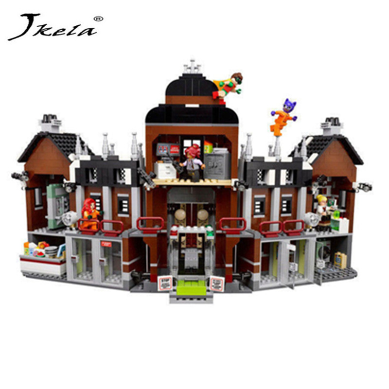 [Jkela] 1628pcs super heroes movie blocks Arkham Asylum Toys Building Blocks Bricks Compatible Legoingly Toys gift for children