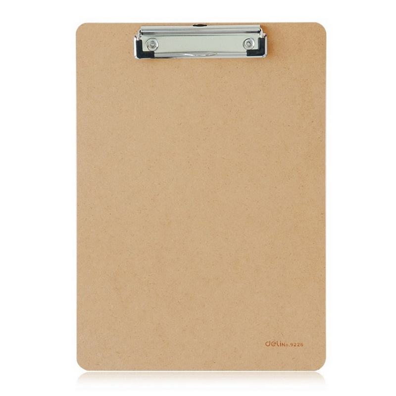 Effective Writing Board Clip A4 Huaga Splint Clip Board Board Clip Sketch Pad Plate Wooden Board