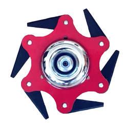 2019 Новейшие 6 зубов диск для резания триммер металлические лезвия головку триммера 65Mn садовый электротриммер головы для газонокосилки