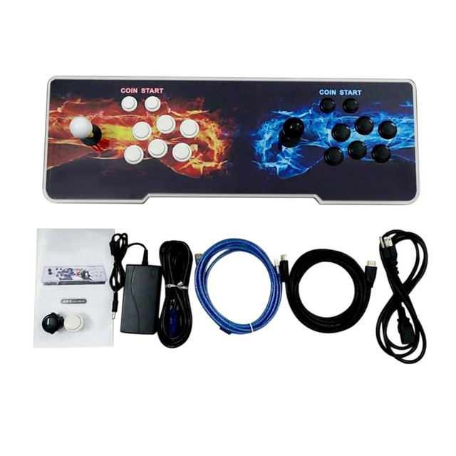 800 Games Home Multiplayer Arcade Game Console Kit Set Double Joystick Children Game Console For Home Party TV Bar 3