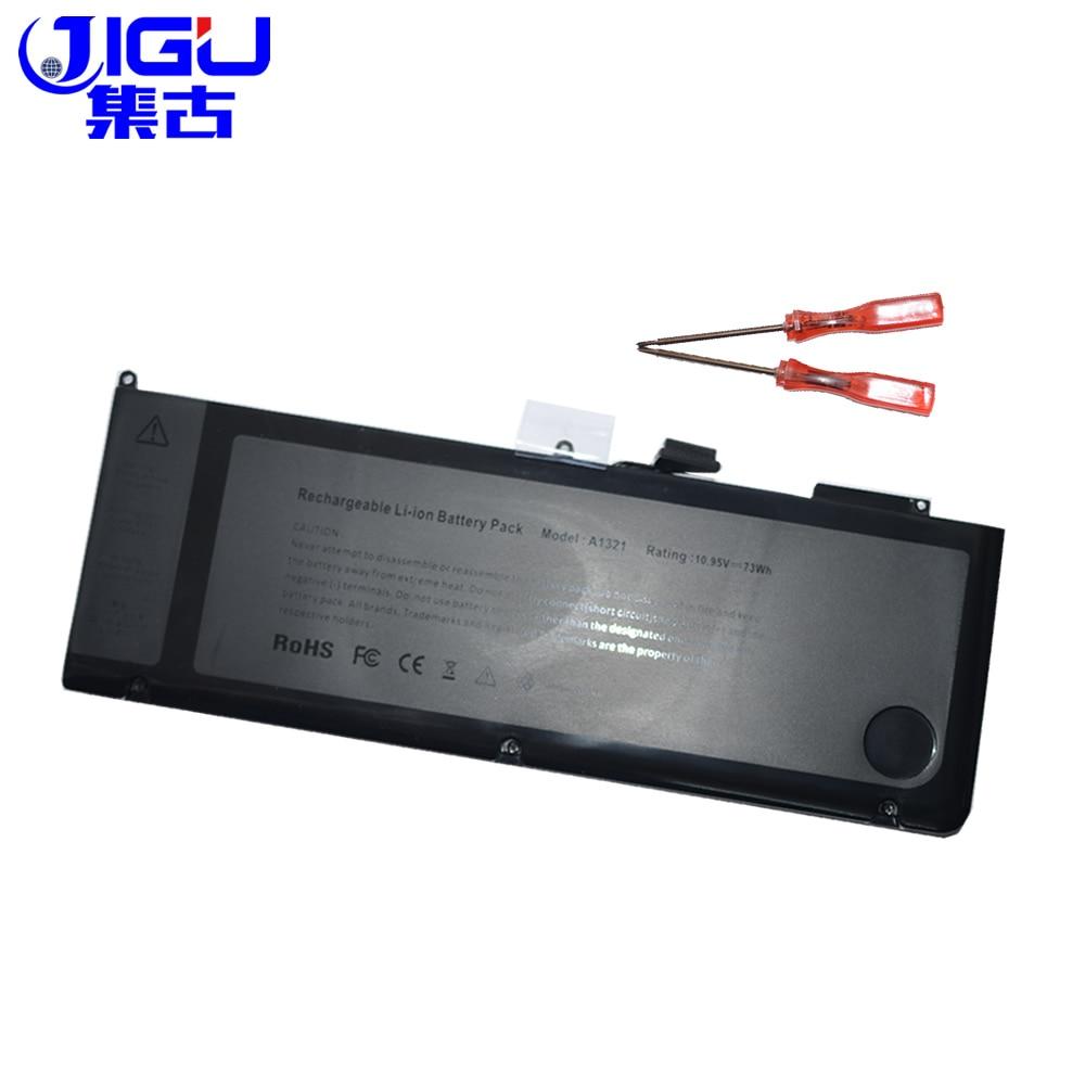 JIGU Marque Nouveau 73Wh Batterie D'ordinateur Portable A1321 Pour APPLE MacBook Pro 15 A1286 MB985 MC986 MC118 MC371 MC372 MC373 série