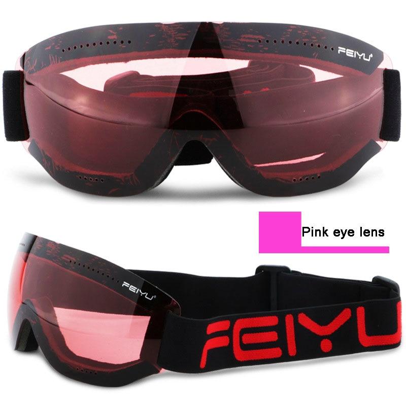 68b41659b564 J18 Direct Saling Brand Ski Goggles Man Woman Snowboard Glasses Ski Helmet  Mate Snowmobile Mask Fast Moto Bike Cycliing Eyewear-in Skiing Eyewear from  ...