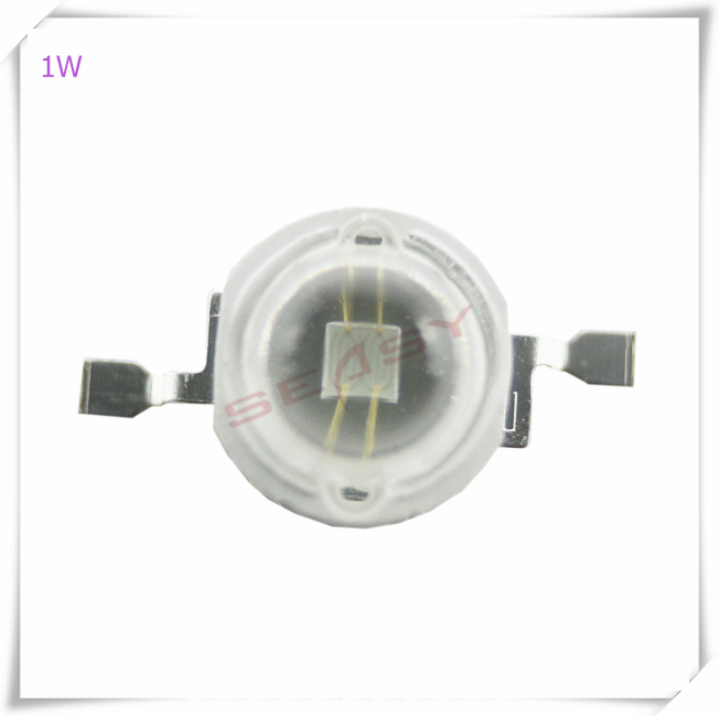10pcs 1W UV 365nm-370nm LED High Power LED Chip (Not contain the PCB Board)