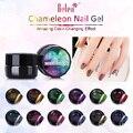 Belen 5ml Chameleon Gel UV Glitter Luminous Gel 3D Colorful Phantom Manicure UV Gel Color Polishes Need UV LED Lamp
