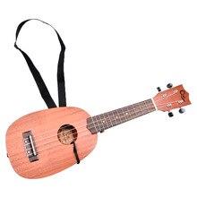 Ukulele Strap Ukulele Part With Rope For All Size Ukuleles Black Neck Belt  Universal Ukulele strap Musical Instruments Parts