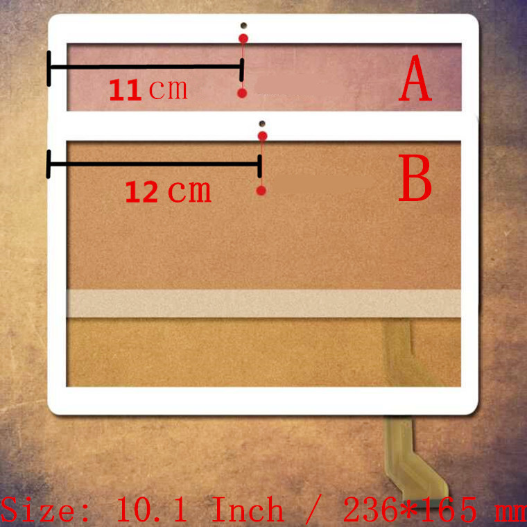 10,1 Zoll Für Teclast 98 Octa Core Dual 4g Tablet Pc Kapazitiven Touchscreen Glas Digitizer-bereich Kostenloser Versand