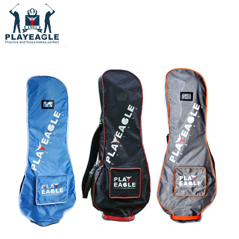PLAYEAGLE Golf Bag Rain Cover Double Zipper Light Weight Golf Travel Cover Bag Fits Most Golf Bag,51X9.44X20inch