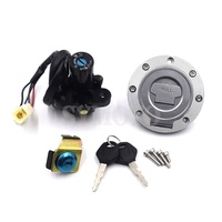 For Yamaha MT 01 2005 2009 YZF R1 2004 2014 YZF R6 2006 2016 Motorcycle Fuel Gas Cap Ignition Switch Seat Lock with Key Kit