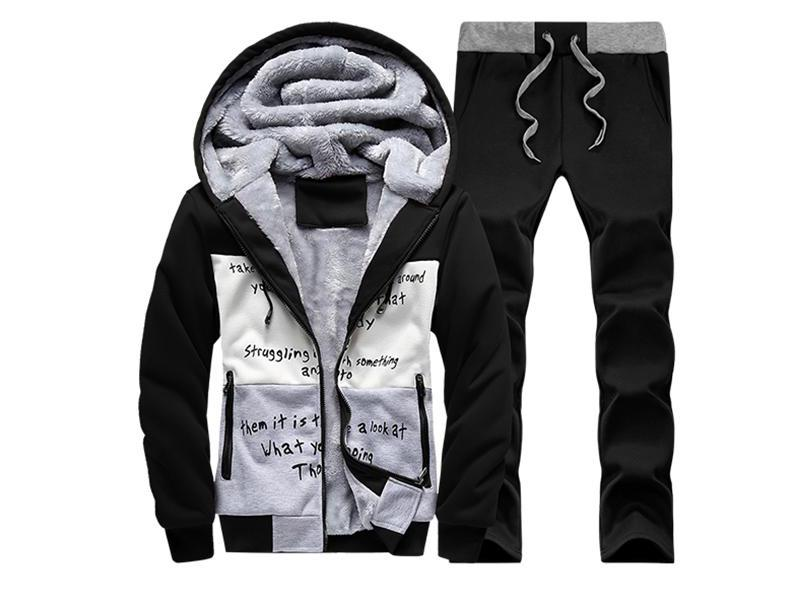 New Winter Men More Teenagers With Velvet Coat Hooded Students Who Fall font b Clothing b