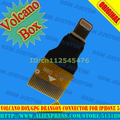 Free Shipping+Volcano box/GPG Drangon Connector For Iphone5+Free Shipping
