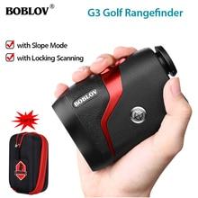 BOBLOV 6X 600M Professional Golf Rangefinder Hunting Range Finder Monocular With Vibrate Distance Correction