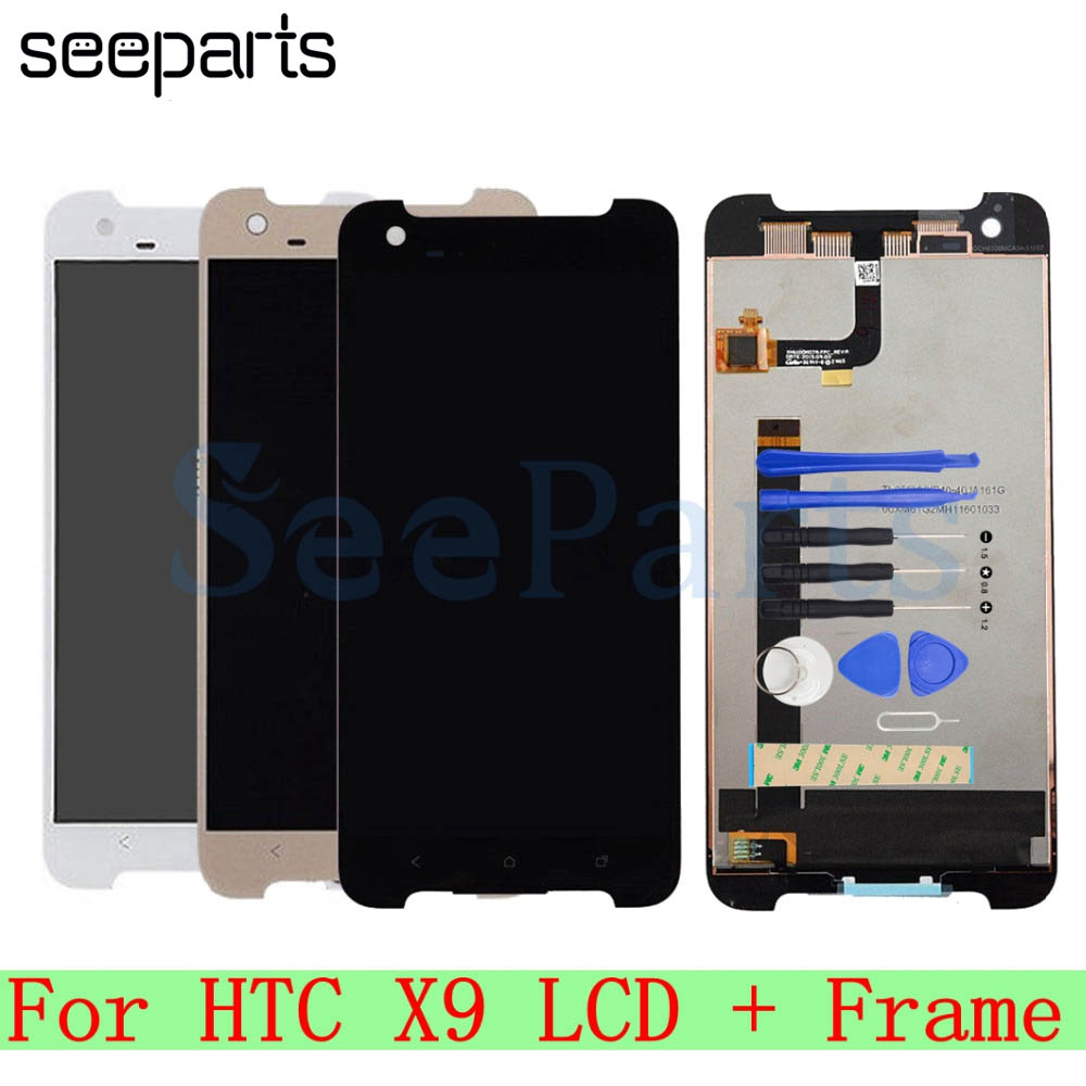 "For HTC One X9 LCD Display Touch Screen Digitizer Assembly Mobile Phone  Replacement Repair Parts 1920x1080 5.5"" For HTC X9 LCD-in Mobile Phone LCDs  from ..."