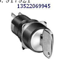 [ZOB] AS6M-2KT2CC idec imports from Japan and the spring AS6M-21KT1BC key switch AS6M-21KT2BC --5PCS/LOT