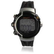 Novela diseño Impermeable Monitor de Ritmo Cardíaco Reloj Contador de Calorías Reloj Del Deporte de Fitness BK N4jz Dropshipping